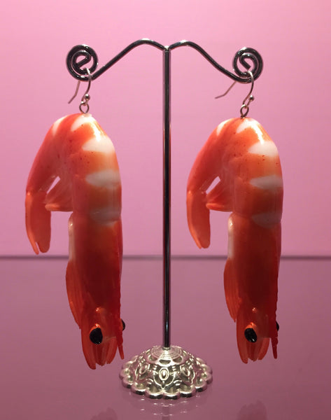 Prawn Earrings