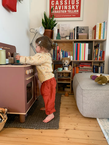 Kitchen Play Linen trousers
