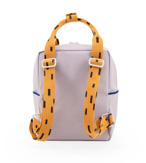 Small backpack sprinkles | lavender + apricot orange