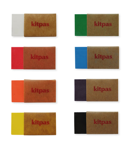 KITPAS | ECO-FRIENDLY CRAYON BLOCKS SET OF 8