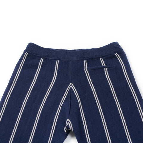 boys wool navy formal trousers