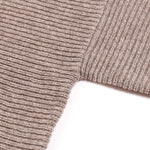 KNIT PLANET | CHUPPY RIBBED JUMPER - CAMEL