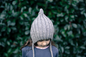 TYPICALLY RED | CHILDREN'S KNITTED HAT - CHUPPY PIXI