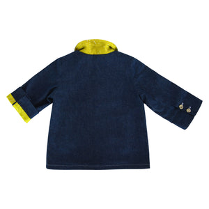 Yellow Galaxy Denim Coat