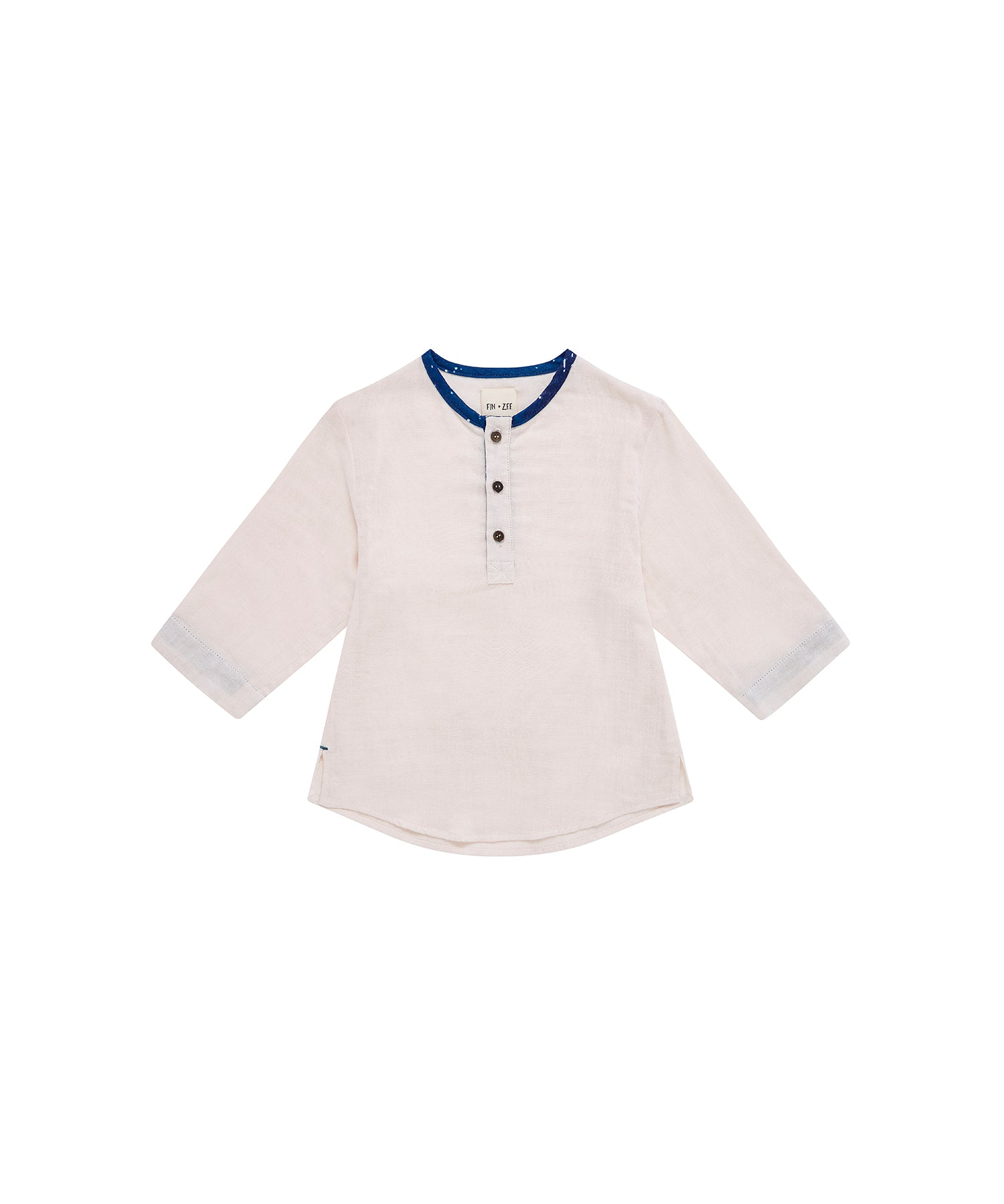 baby boy cream shirt