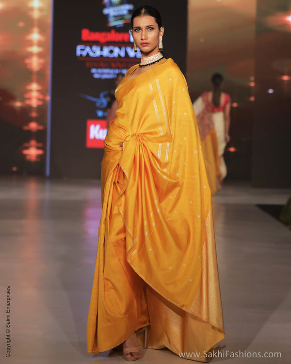 EE-S14279 Yellow Silver Kanchi