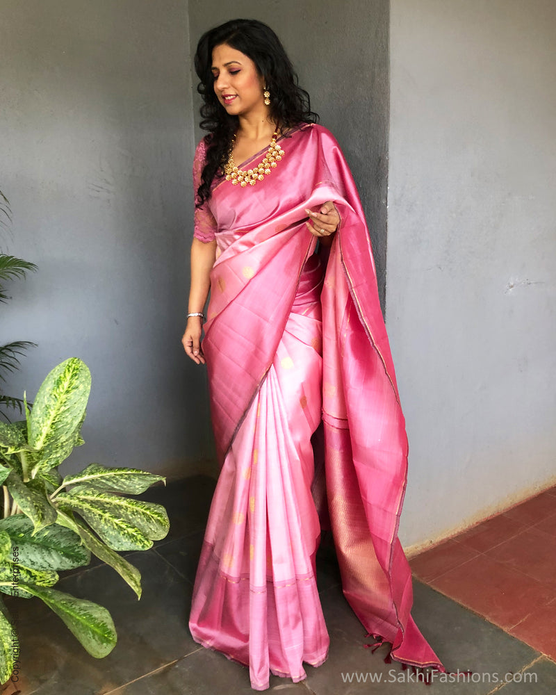 EE-S23680 Shades of Pink Kanchi