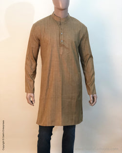 DP-S23391 Beige Mens Kurtha