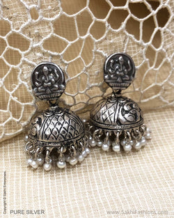 ASDS-24171 Silver Earring With Pearl
