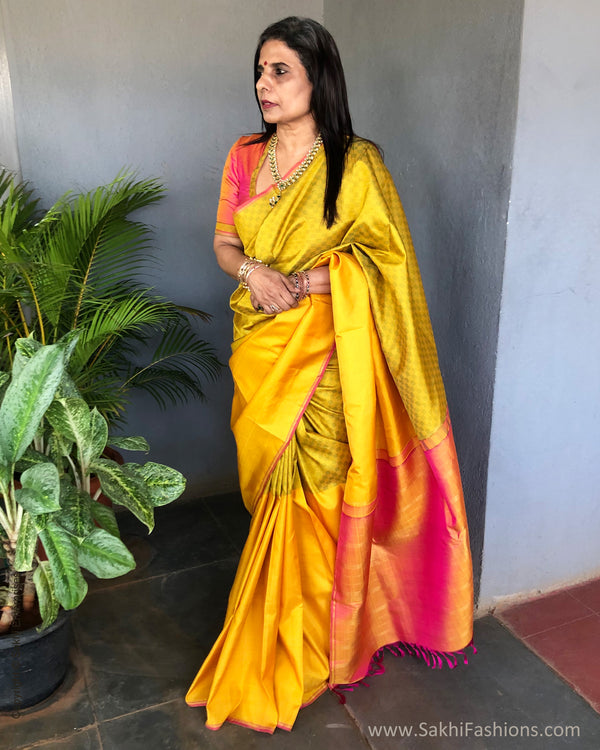 EE-S24959 Yellow Payadi Kanchi