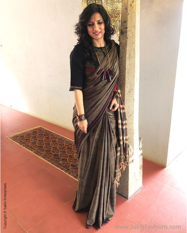 EE-S27687 Brown Karnataka Cotton