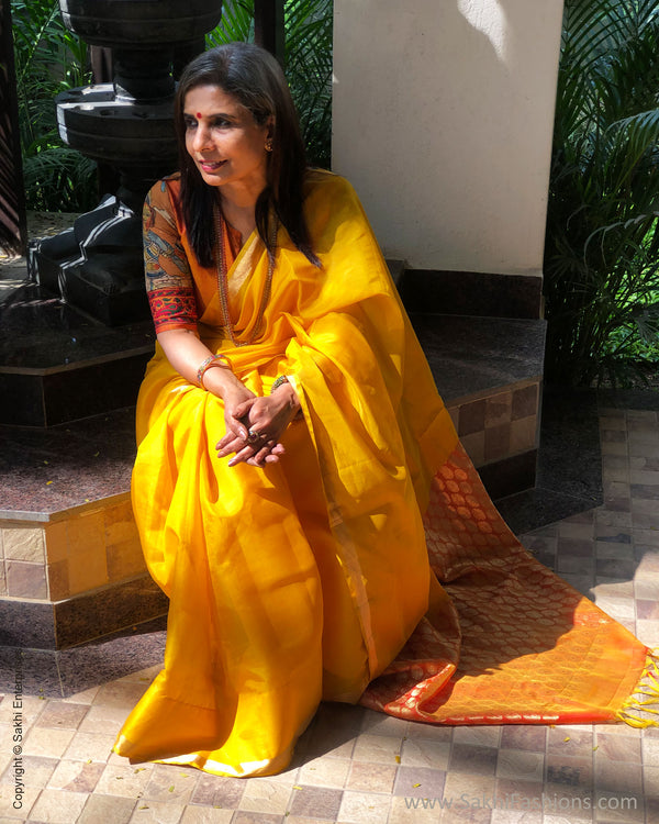 EE-S33930 Golden Mustard Silk