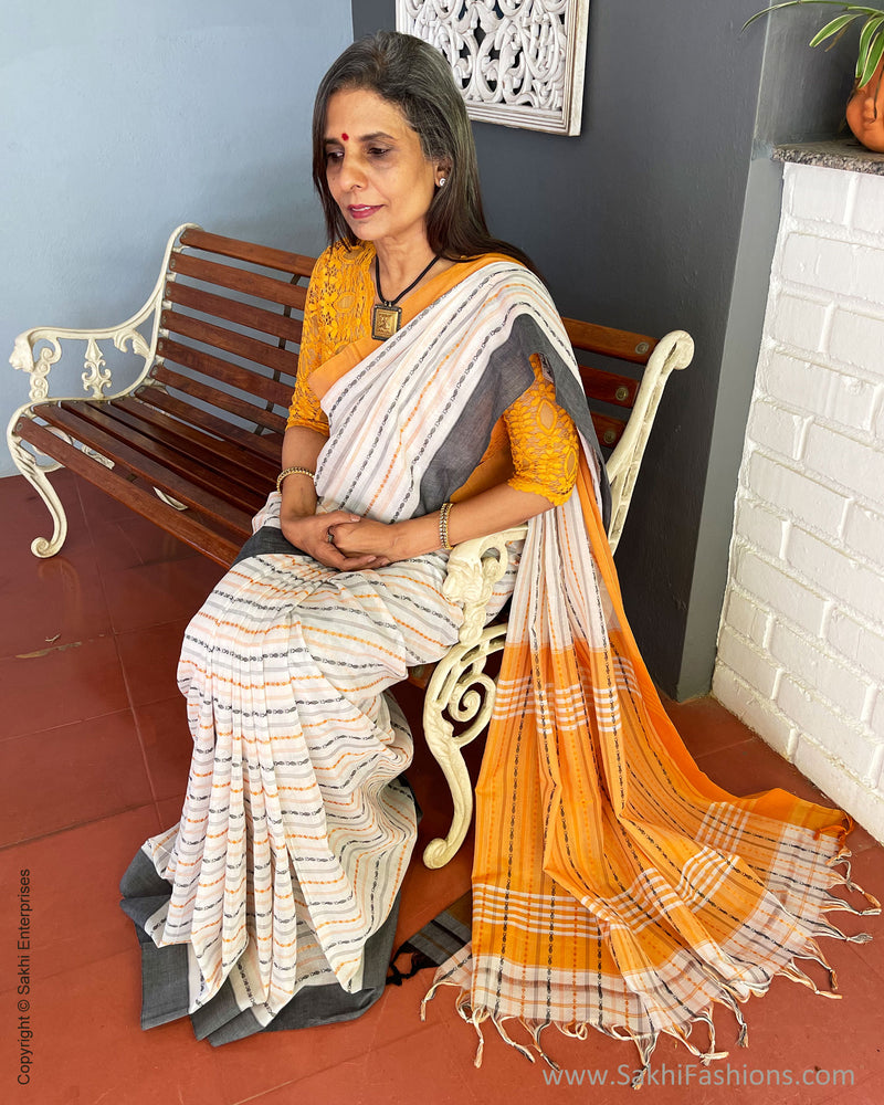 EE-S38004 Karnataka cotton saree