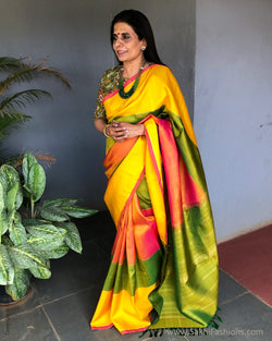 EE-S23052 Shaded Yellow Kanchi