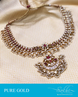 AGDS-20864 - Gold pure Gold Necklace