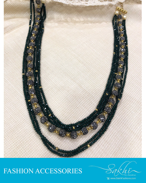AJDS-0957 - Black &  Fashion Accessory Mala