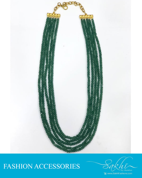 AJDS-0959 - Green &  Fashion Accessory Mala