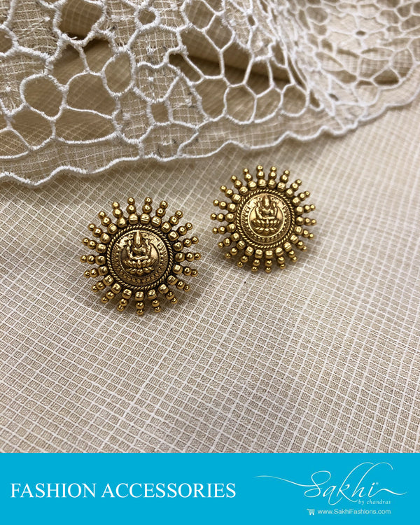 AJDS-20812 -Mix Metal Earring