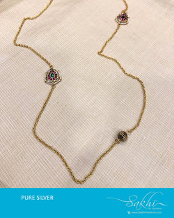ASDS-T009 - Gold pure Silver Necklace