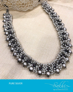 ASDS-T018 - Silver pure Silver Necklace