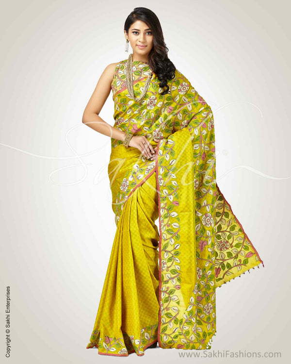 SR-0899 - Green pure Kanchivaram Silk Saree