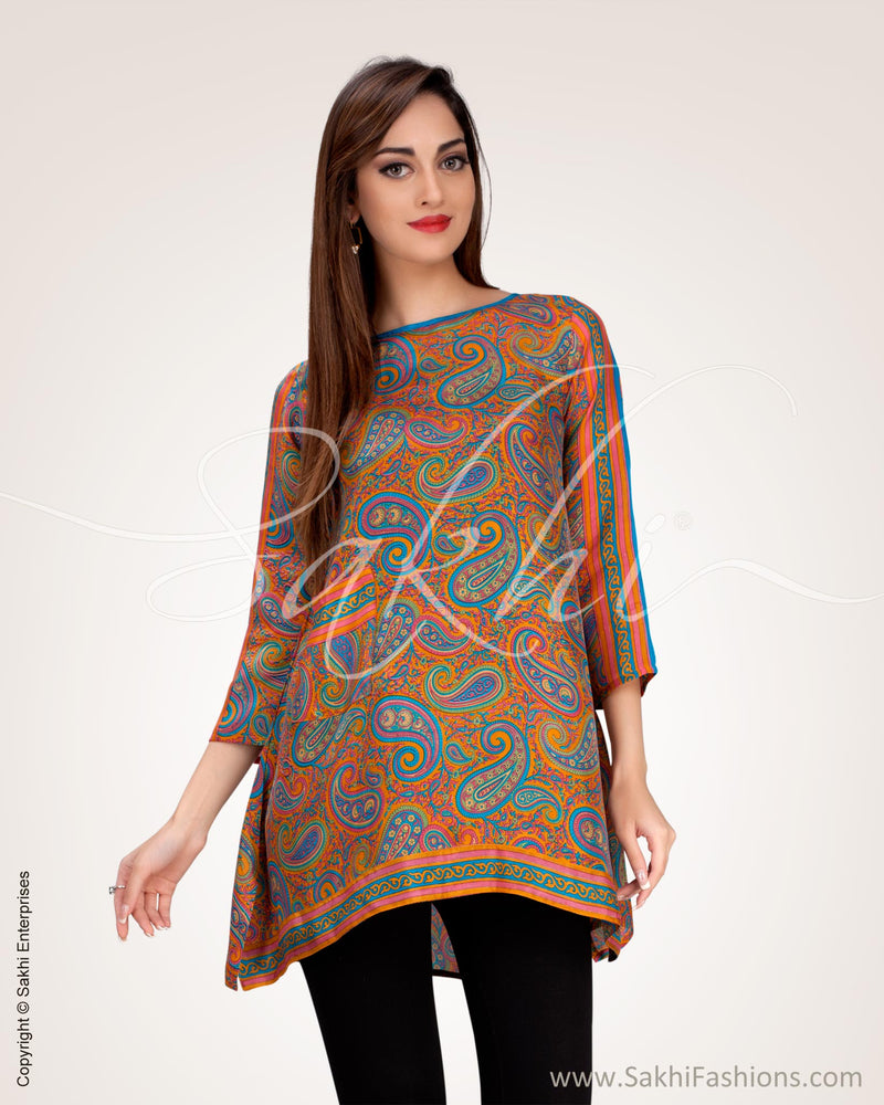 WWO-17006 - Multi pure Silk Top
