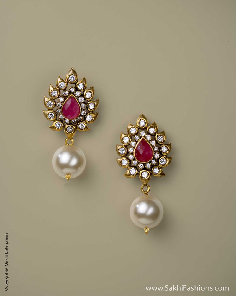 AD-0011 Earring Red