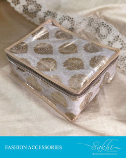 AJDS-13335 - Beige &  Jewelry Box
