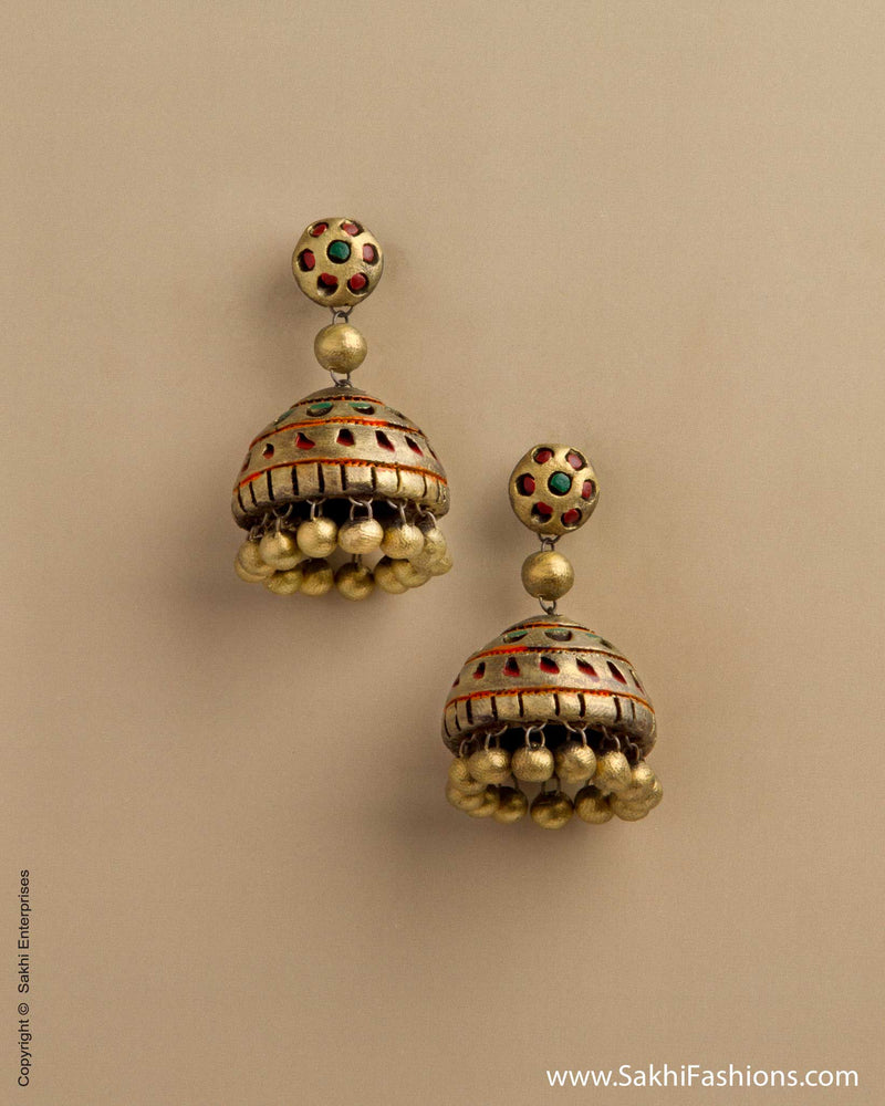 AT-0025 Gold Terra Jhumka