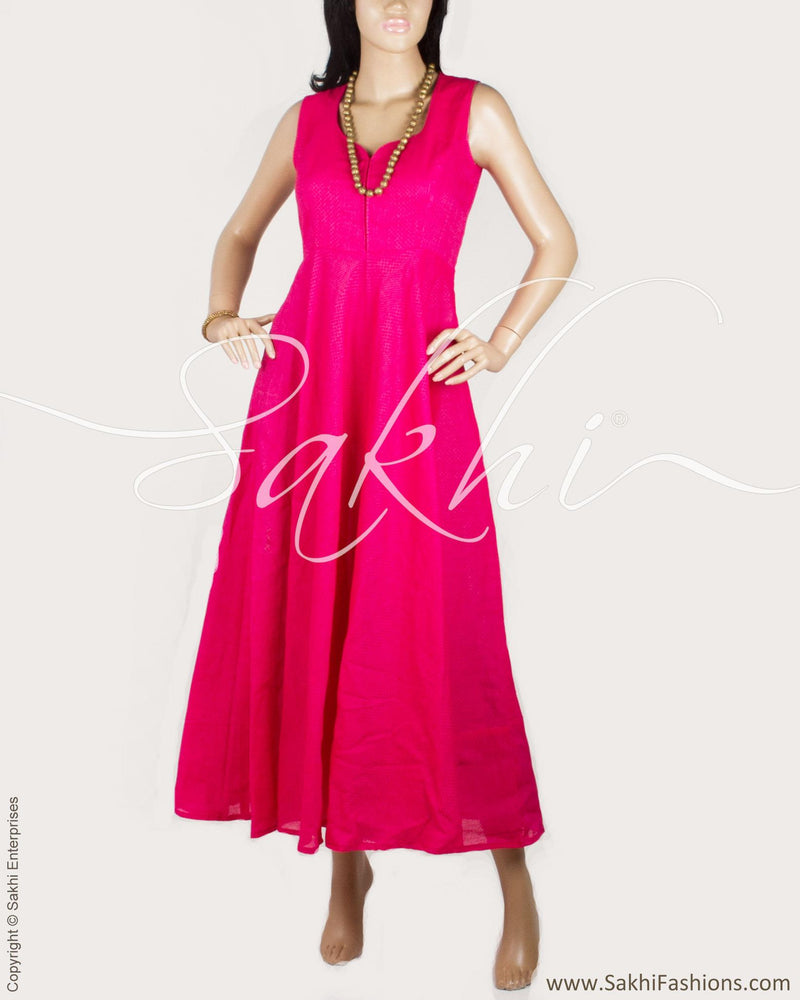 RTP-20760 - Pink &  Pure Cotton Dress