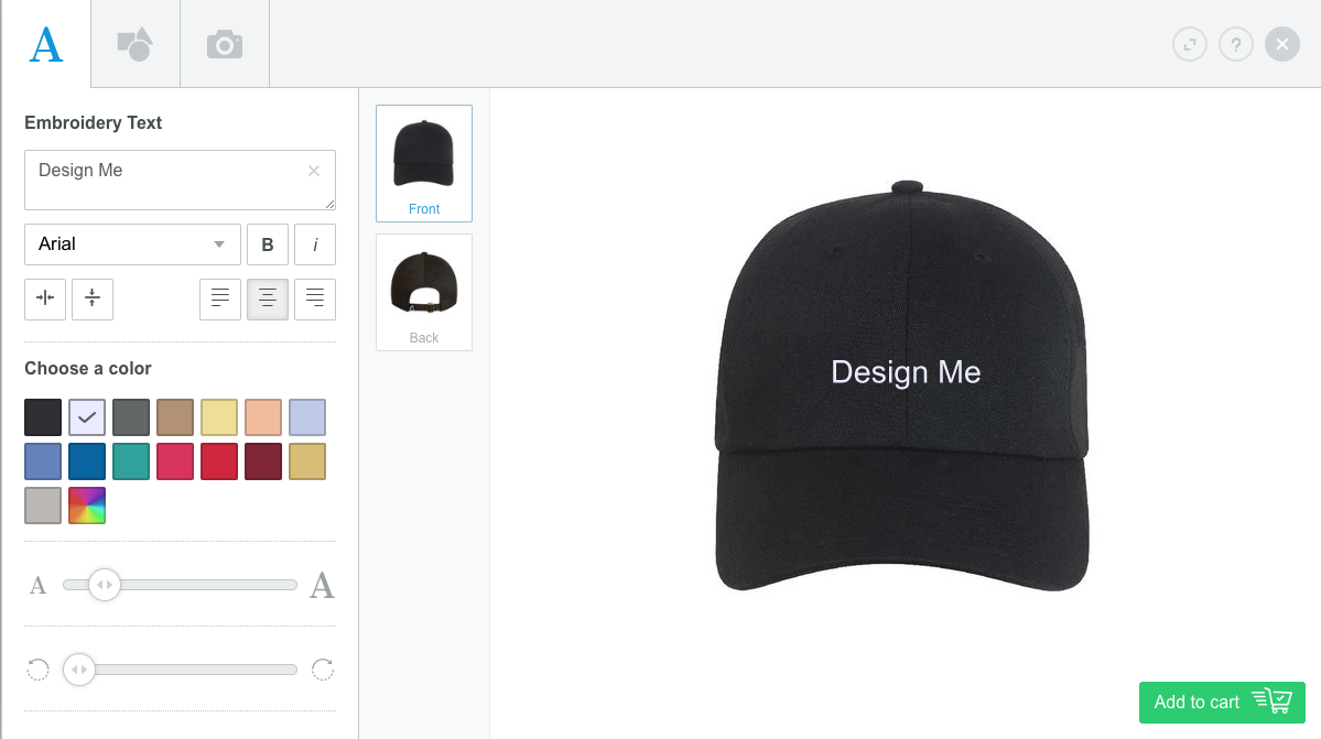 Evergreen Design Tool With Hat