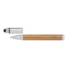 Personalized Bamboo Barrel Stylus Pen With Cap