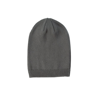 Eco-Friendly Beanie Long Charcoal
