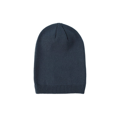 Eco-Friendly Beanie Long Pacific Blue
