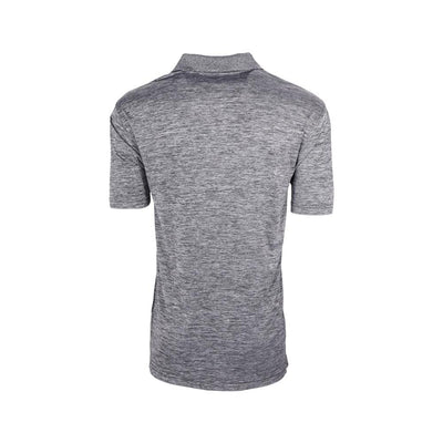 Eco Friendly Mens Polo Gray Back