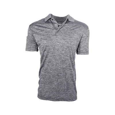 Eco Friendly Mens Polo Gray Front
