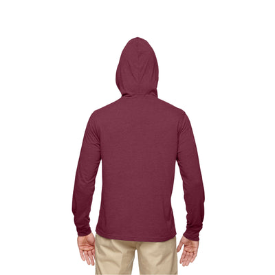 Eco-Friendly Pullover Hoodie Berry Back