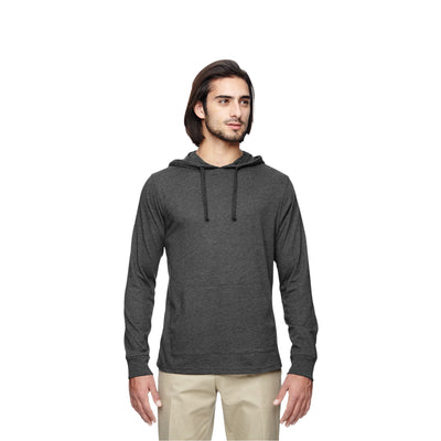 Eco-Friendly Pullover Hoodie Charcoal/Black