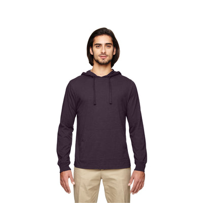 Eco-Friendly Pullover Hoodie Eggplant