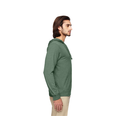 Eco-Friendly Pullover Hoodie Green Side