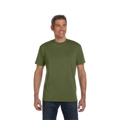 Eco-Friendly Short Sleeve Olive