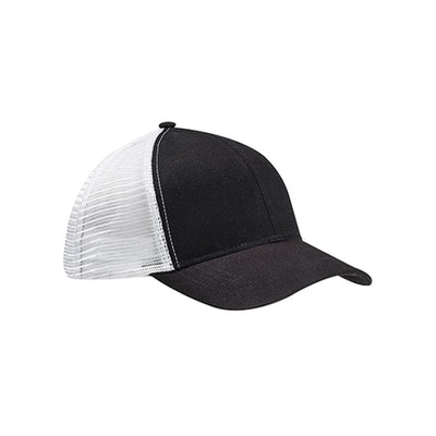 Eco-Friendly Trucker Hat Black/White