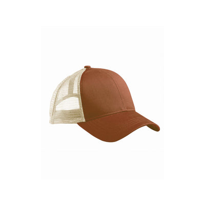 Eco-Friendly Trucker Hat Legacy Brown/Oyster