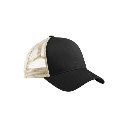 Eco-Friendly Trucker Hat Black/Oyster
