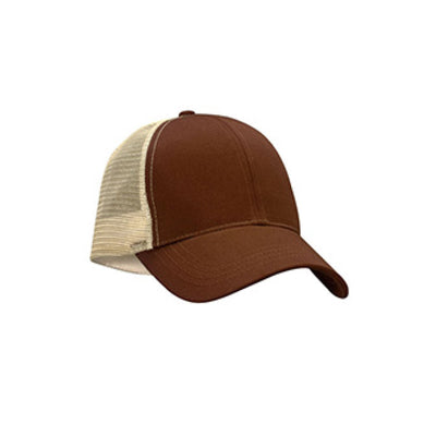 Eco-Friendly Trucker Hat Earth Brown/Oyster