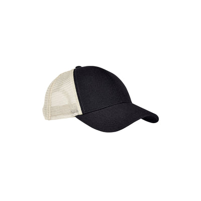 Eco-Friendly Unisex Trucker Cap Black Oyster