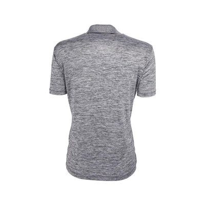 Eco Friendly Womens Polo Gray Back