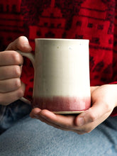 Load image into Gallery viewer, Raspberry Dip Coffee Stein // SOLD OUT // Available for preorder