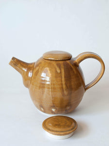 70s Brown Teapot