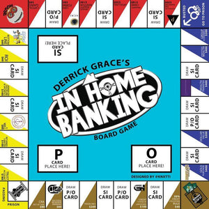 "FINAL 500 GAMES - ""In Home Banking"" Board Game"